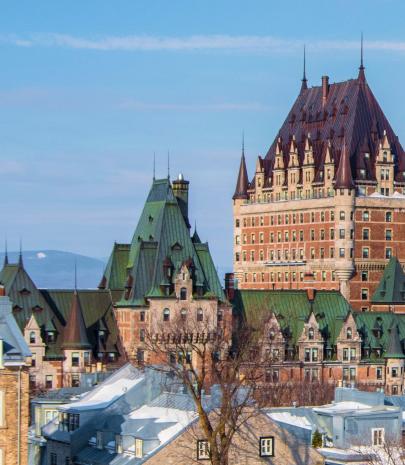 Photographie Ville de Québec - Château Frontenac