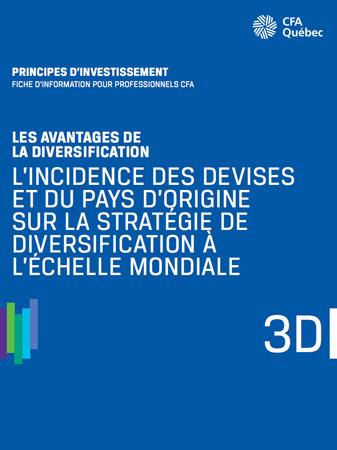 Apperçu de la couverture de L'incidence des devises et du pays d'origine sur la stratégie de la diversification à l'échelle mondiale